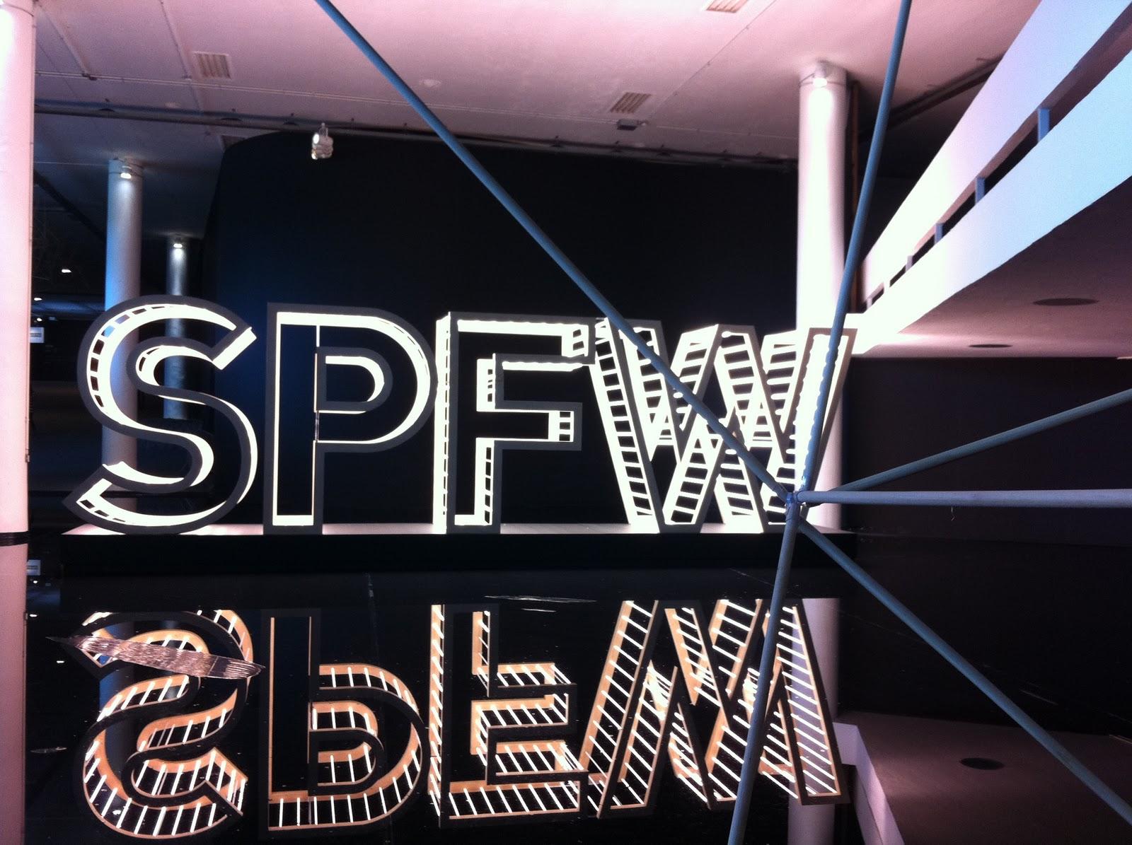Bem vindos aos SPFW