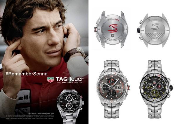 93f74c8d998 TAG Heuer lança relógio S Ayrton Senna!