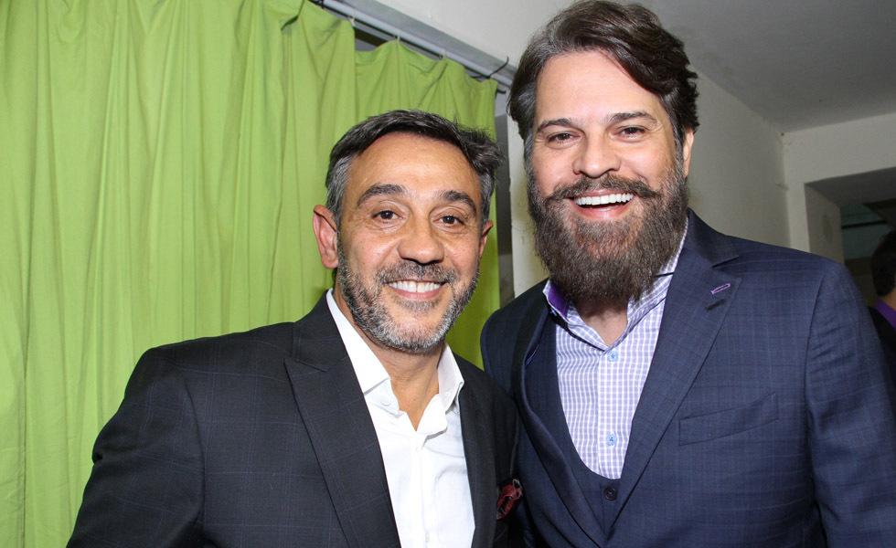 Marcelo Faisal e Juan Alba