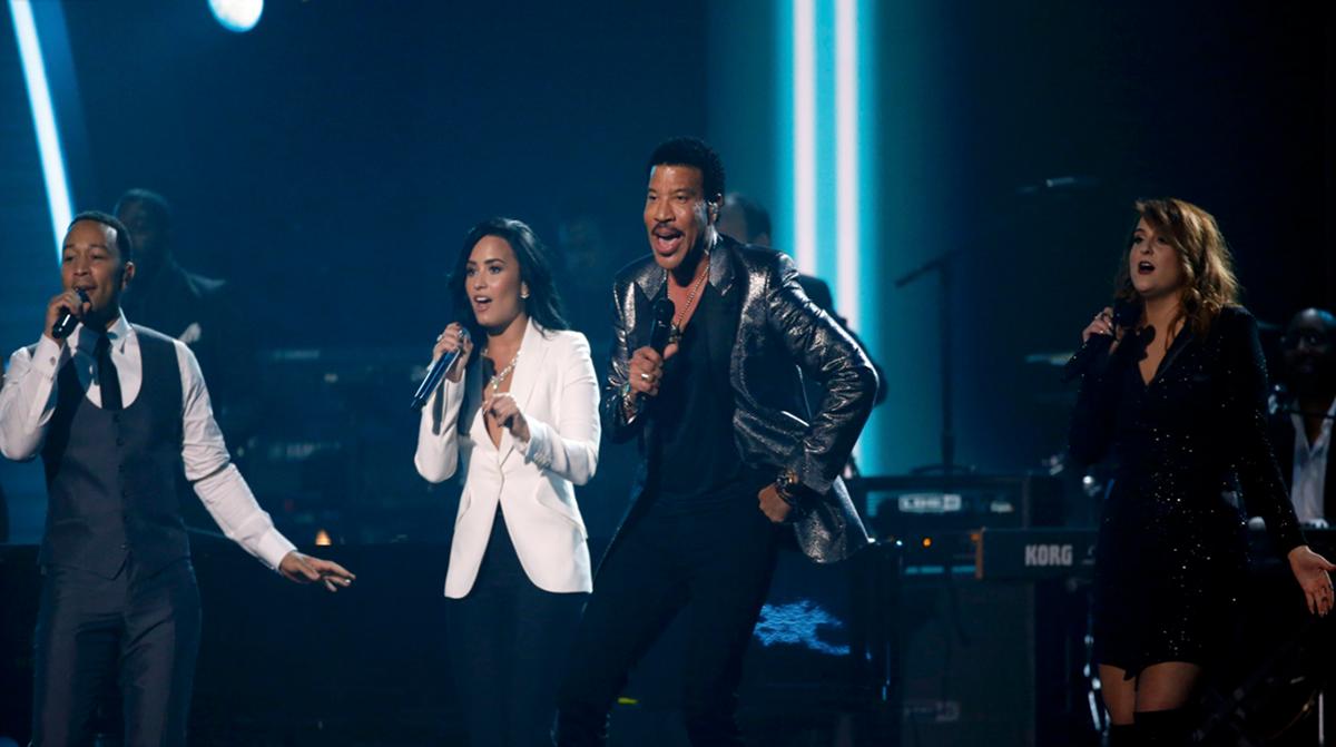 John Legend, Demi Lovato e Meghan Trainor, Lionel Richie