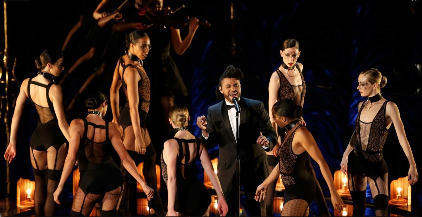 The Weeknd canta a canção indicada 'Earned it' no Oscar 2016