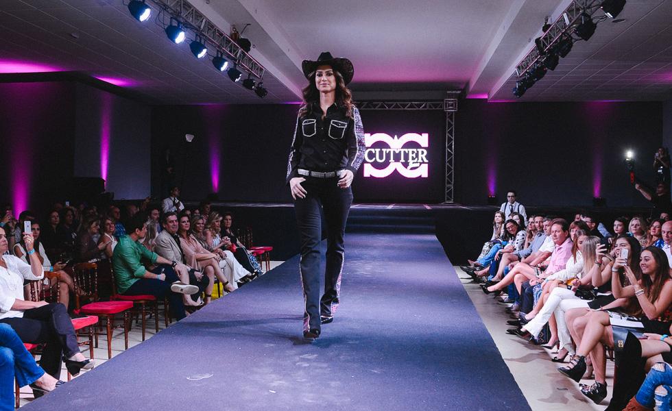 Desfile da nova coleção Cutter Jeans