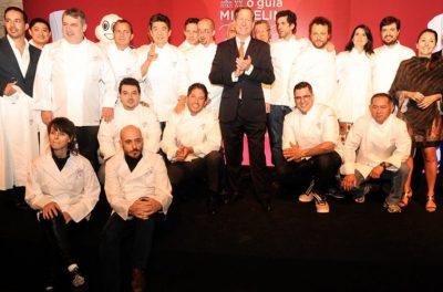 Os chefs premiados