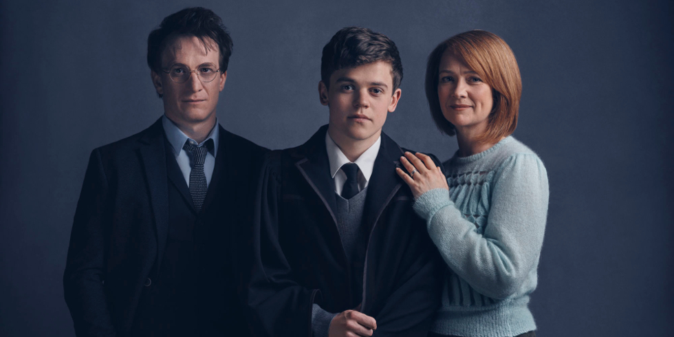 HARRY POTTER AND THE CURSED CHILD CAST PORTRAITS BY CHARLIE GRAY