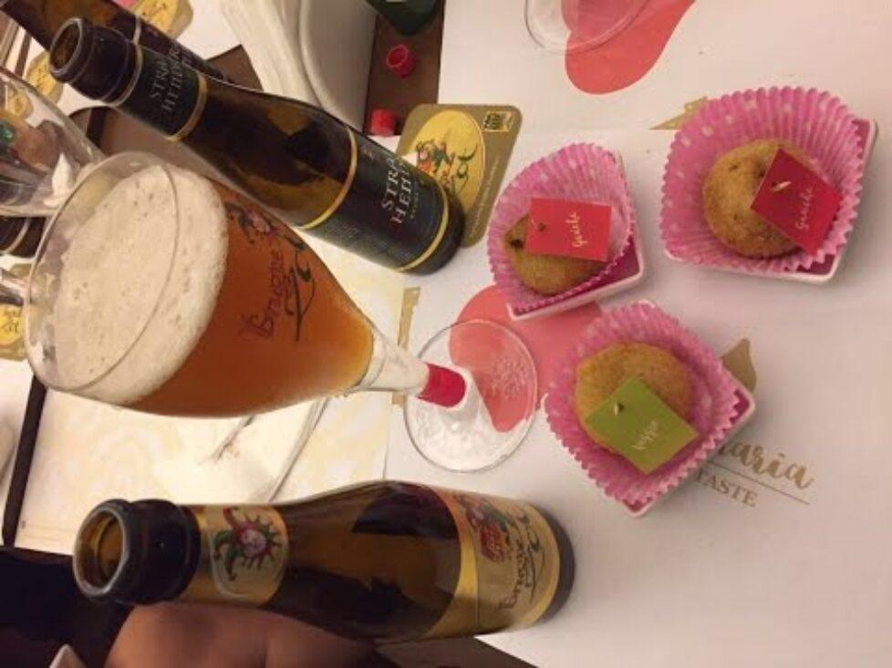 Coxinha e cerveja se unem em evento na capital paulista