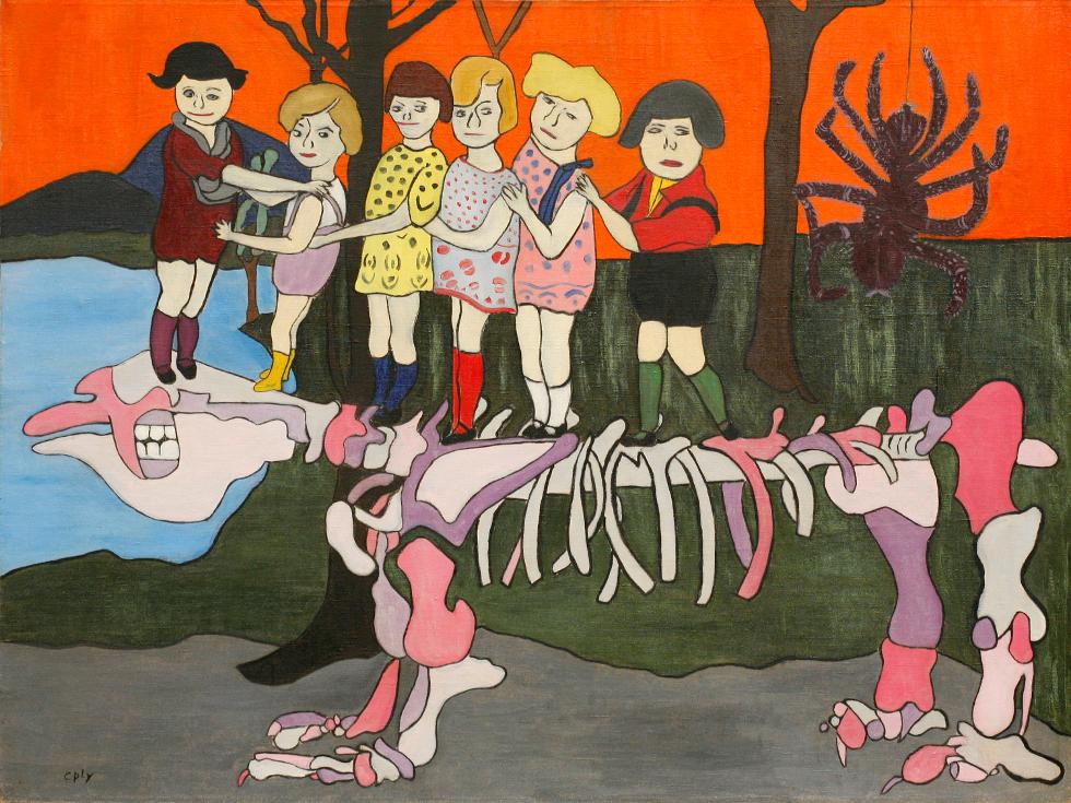 fondazione-prada_children-of-dynosaurus-1949
