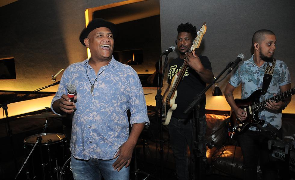 A banda Samba dos Rios