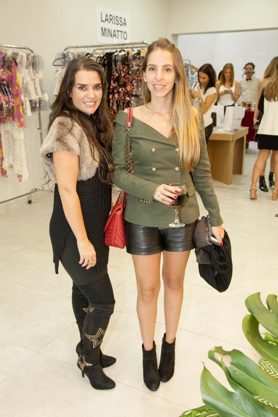 Alessandra Cozzi e Stella Jacinto (Foto: Divulgação)