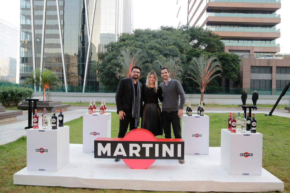 Anderson Cruz, Gabriele Andrade e Marcelo Pimentel (Foto: Divulgação)