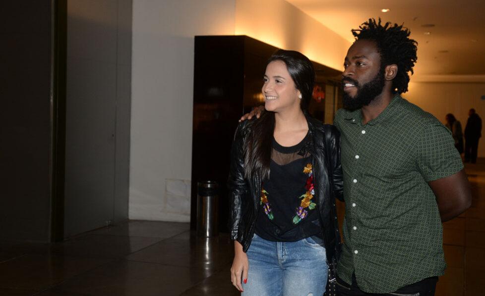 Carolina Samarão e Douglas Silva
