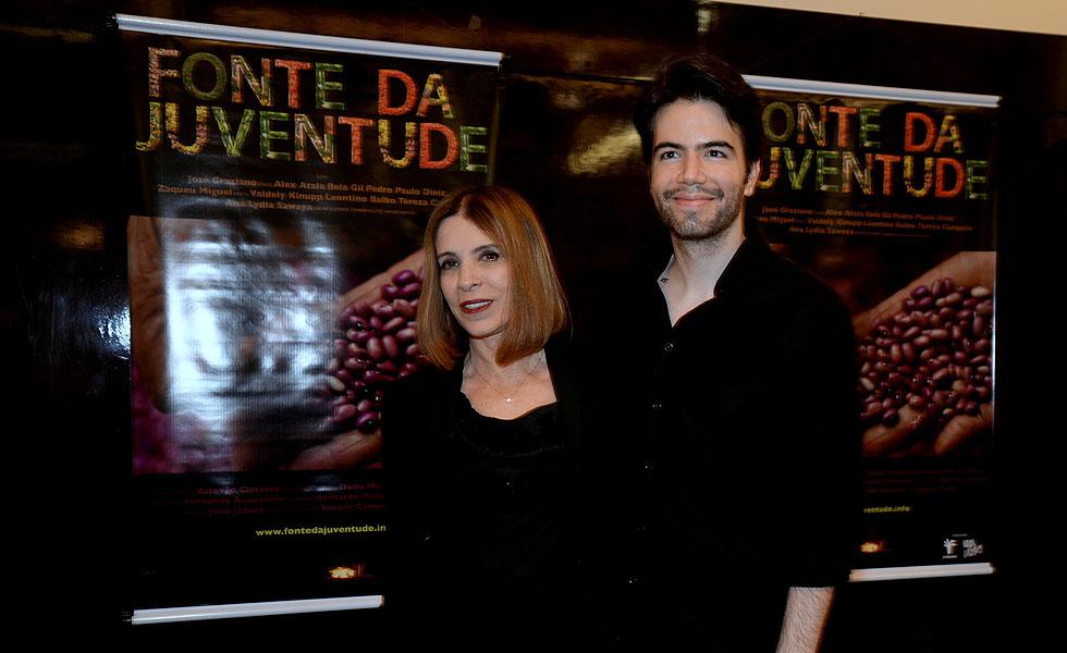 Liège Monteiro e Luiz Fernando Coutinho (Foto: Juliana Rezende/Divulgação)