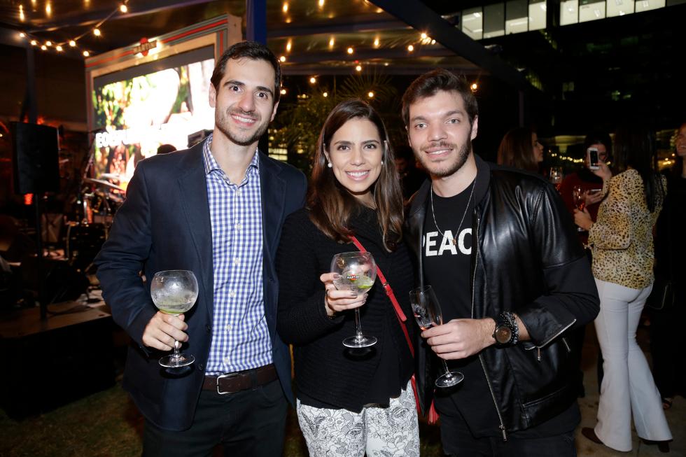 Marcelo Pimentel, Veridiana Carvalho e Vinicius Monso (Foto: Divulgação)