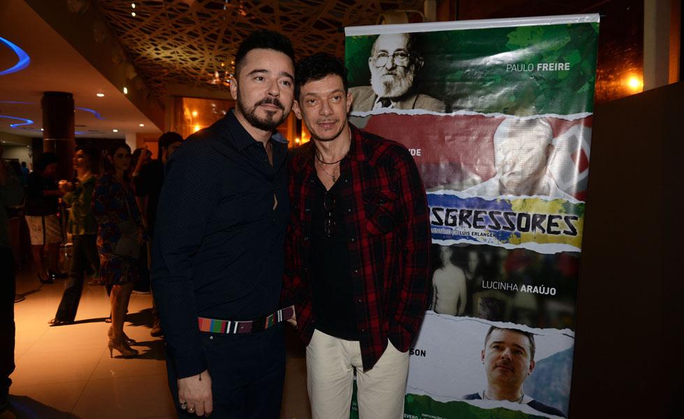 Carlos Tufvesson e André Piva (Foto: Juliana Rezende/ Reprodução)