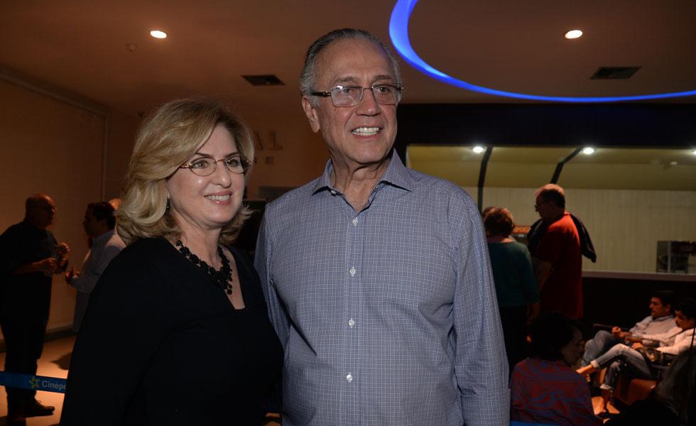Elizete e Erico Magalhães (Foto: Juliana Rezende/ Reprodução)
