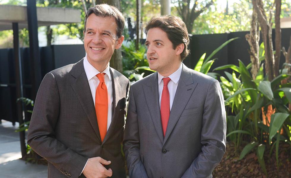Eric Grellety Bosviel e Carlinhos Jereissati (Foto: Divulgação)