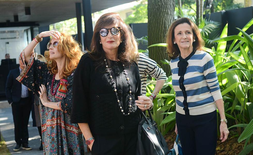 Fabiana Pastore, Rose Bratke e Kika Rivetti (Foto: Divulgação)