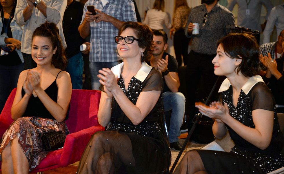 Fernanda Marques França, Drica Moraes e Luisa Arraes (Foto: Juliana Rezende/Divulgação)