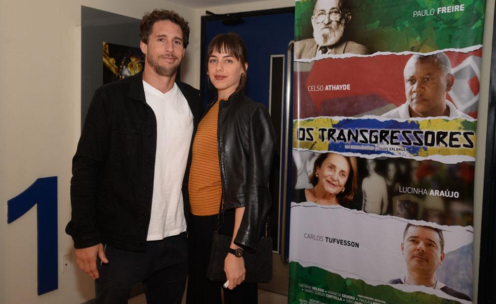 Flávio Canto e Alice Bento (Foto: Juliana Rezende/ Reprodução)