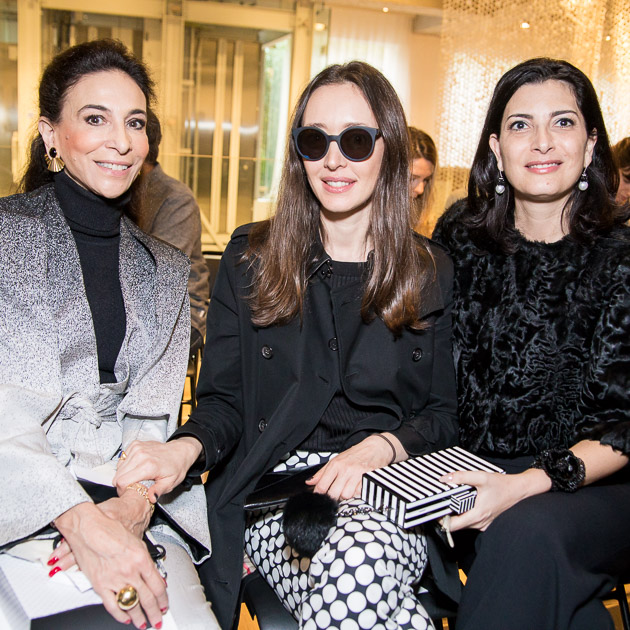 Cristiana Neves da Rocha, Carol Andraus e Tania Derani (Foto: Divulgação)