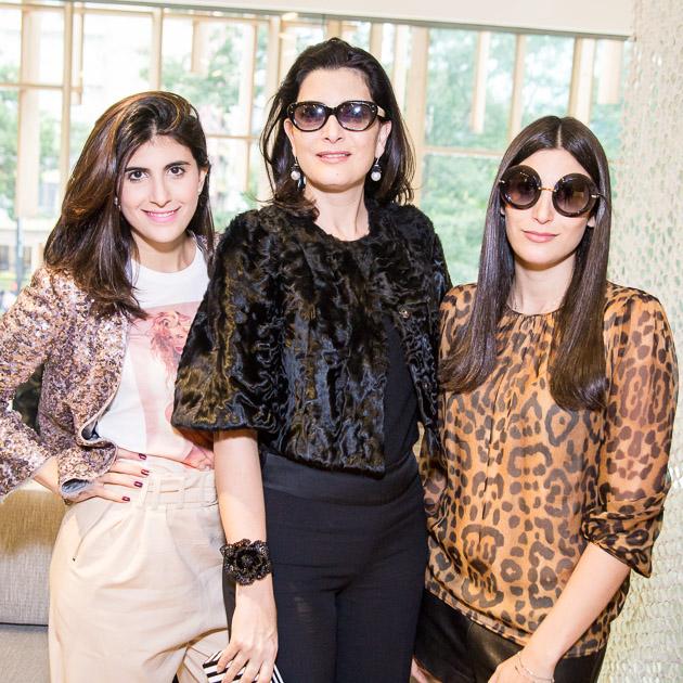 Sophia, Tania e Duda Derani (Foto: Divulgação)