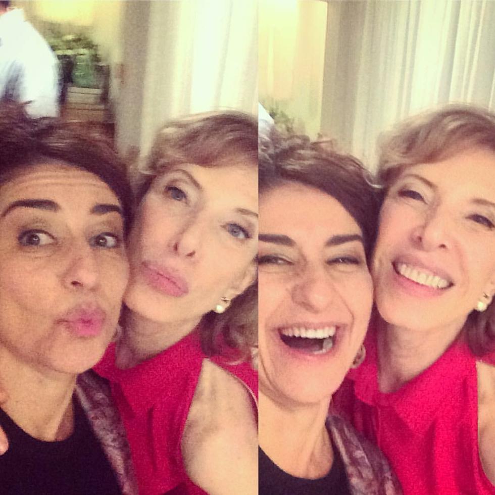 Patricia Gaspar e Marília Gabriela  (Foto: Reprodução Instagram)