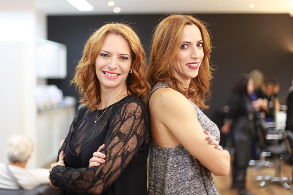 As irmãs Dani e Carol Amorim, do salão Cut