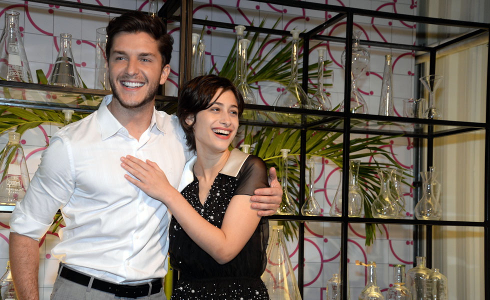 Klebber Toledo e Luisa Arraes (Foto: Juliana Rezende/Divulgação)