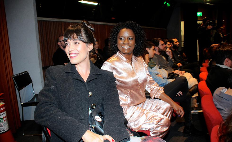 Lila Guimarães e Shirley Cruz (Foto: Reprodução)