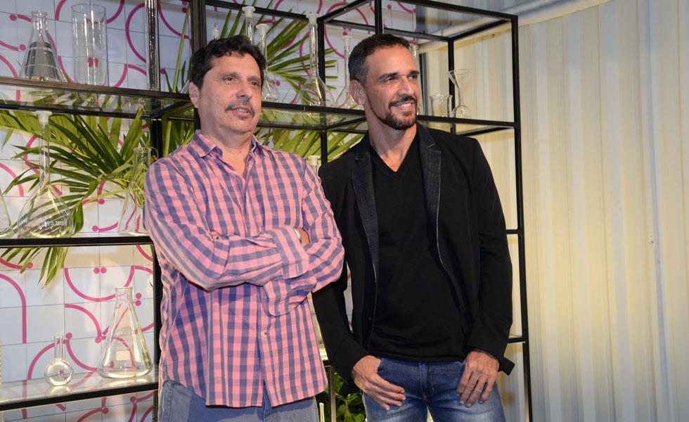 Mauro Wilson e Marcelo Saback (Foto: Juliana Rezende/Divulgação)