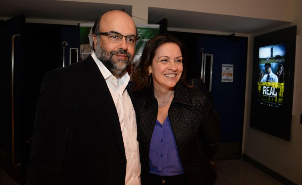 Monica Albuquerque e Luiz Cristofaro (Foto: Juliana Rezende/ Reprodução)