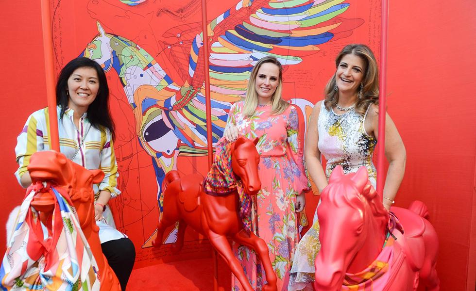 Patricia Assui, Fernanda Pies e Flavia Kujwasky (Foto: Divulgação)