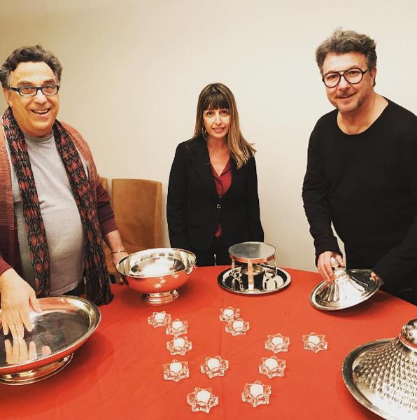 Toninho Mariutti, Belmira e Marcos Simão (Foto: Reprodução Instagram)
