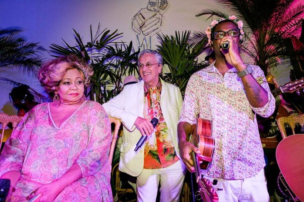 Alcione, Caetano Veloso e Pretinho da Serrinha (Foto: Bruno Ryfer, Miguel Sá e Renato Wrobel/ Trezze Imagens)