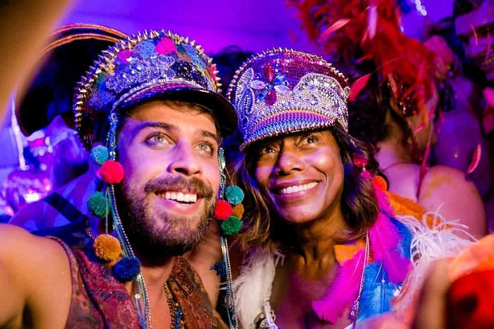 Raul Aragão e Gloria Maria (Foto: Bruno Ryfer, Miguel Sá e Renato Wrobel/ Trezze Imagens)