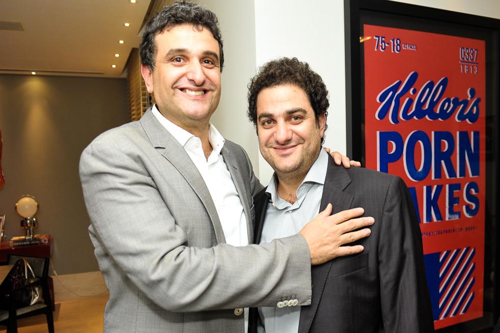 Raphael e Alain Horn (Foto: Paulo Freitas/Reprodução)