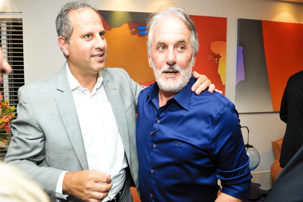 José Roberto Maciel e Otavio Mesquita (Foto: Paulo Freitas/Reprodução)