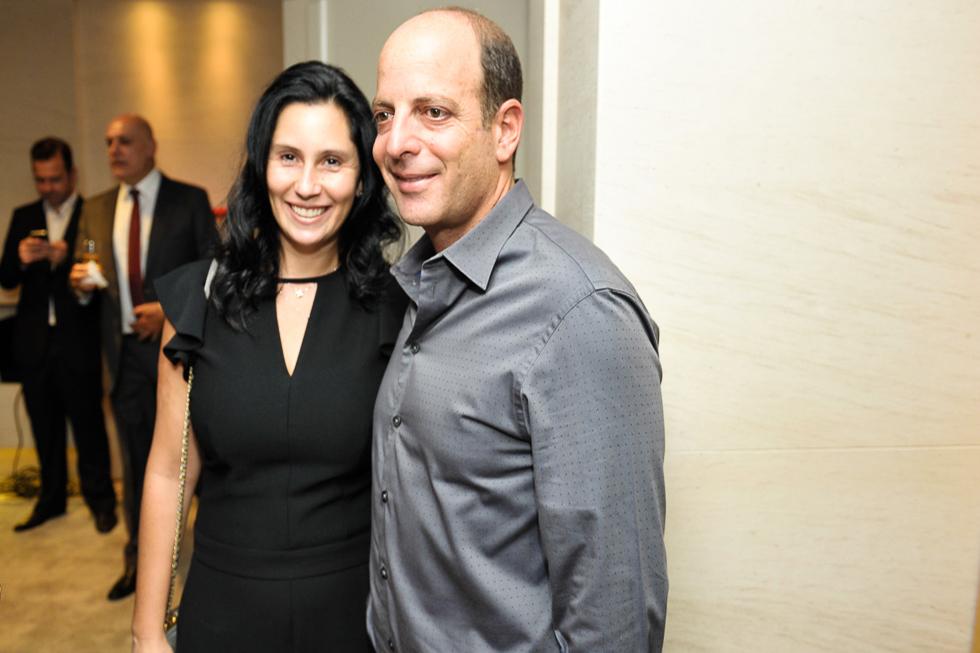 Tatiana e Mauricio Dayan (Foto: Paulo Freitas/Reprodução)