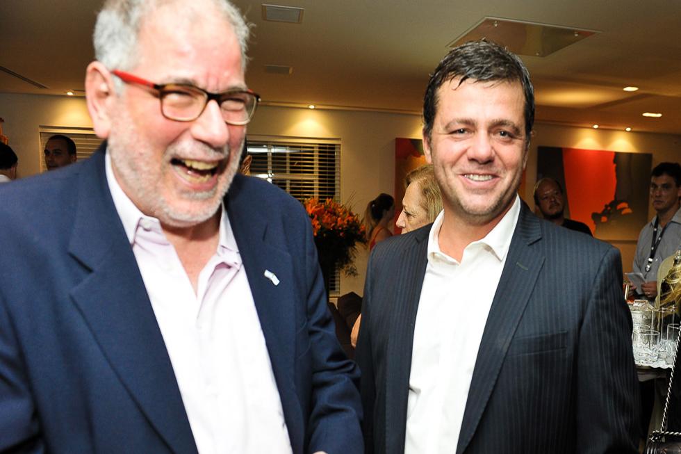 Nessim Hamaoui e Marcio Chan (Foto: Paulo Freitas/Reprodução)