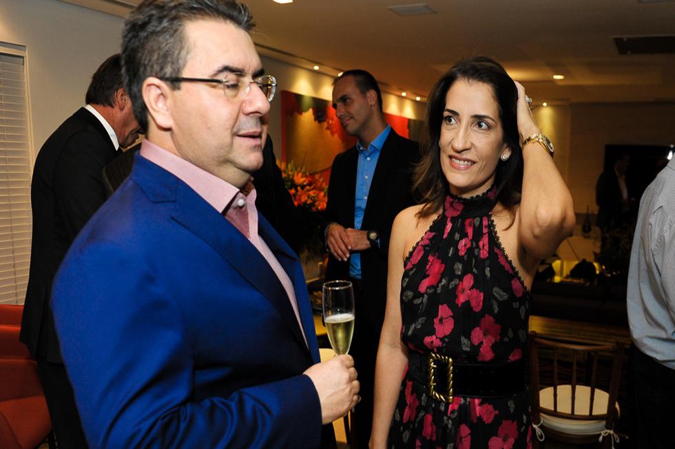 Samara e José Carlos Semenzato (Foto: Paulo Freitas/Reprodução)