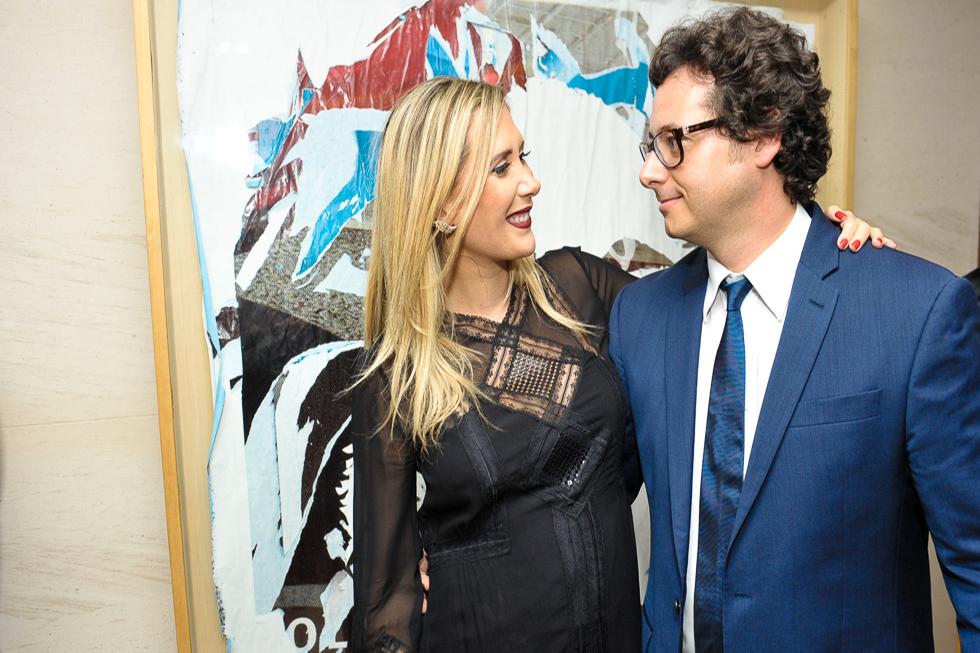 Sophie e Fabio Wajngarten (Foto: Paulo Freitas/Reprodução)