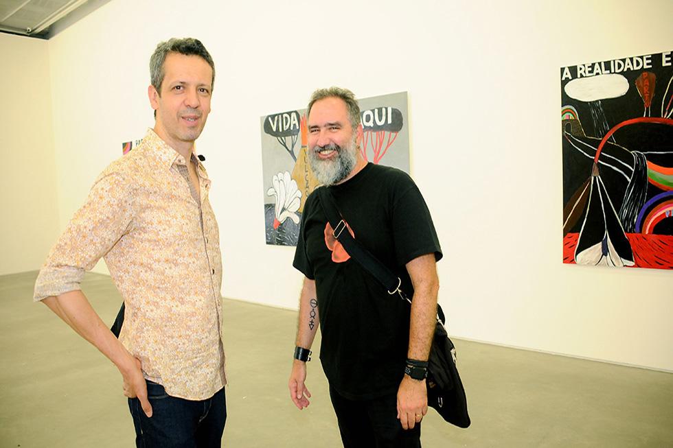 Albano Afonso e Luiz Telles (Foto: Bruna Guerra/Reprodução)