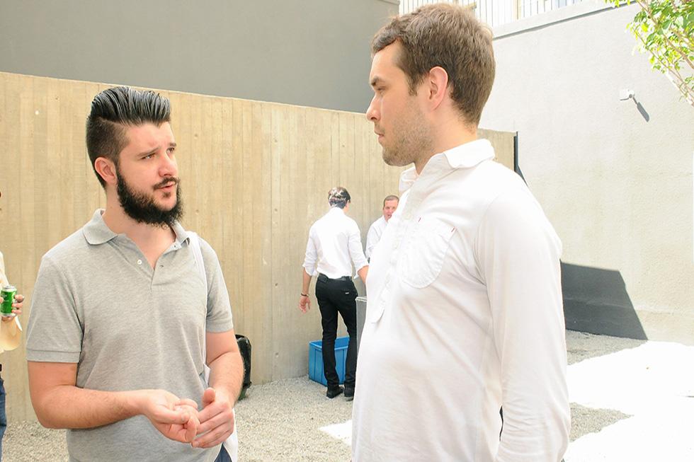 Alessandro Facente e Timo Tuominen (Foto: Bruna Guerra/Reprodução)