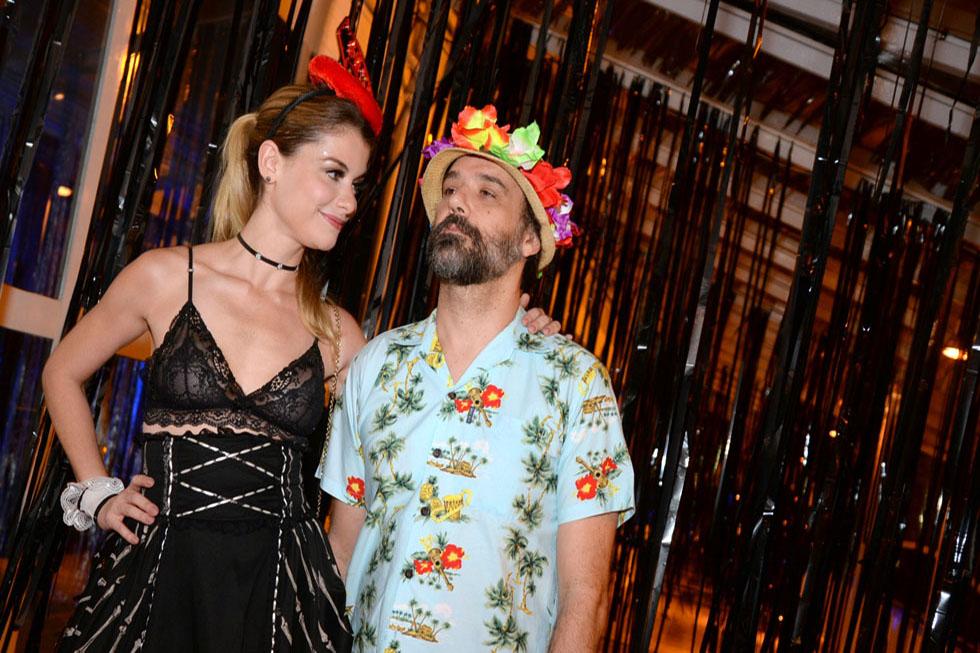 Alinne Moraes e Mauro Lima (Foto: Juliana Rezende/Reprodução)