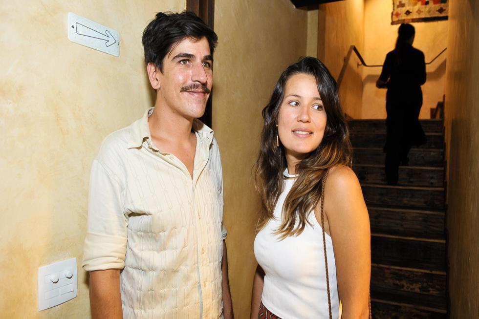 André Visocklis e Vivian Lobato (Foto: Paulo Freitas/Reprodução)
