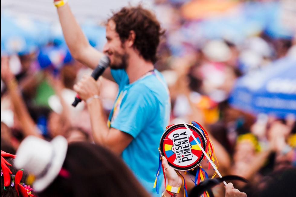 Bloco Sargento Pimenta Carnaval 2015 (Foto: Coletivo Clap/Divulgação)