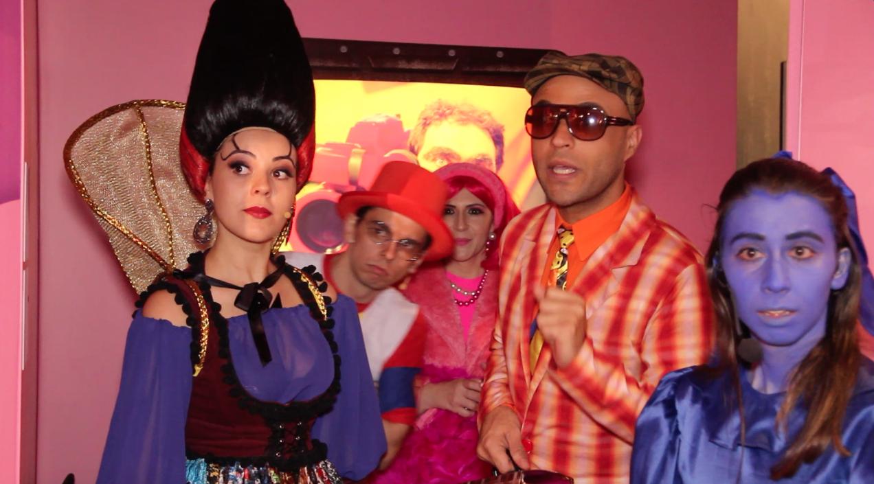 Morgana, Pedro, Penélope, Dr. Abobrinha e Zula (Foto: Cla Cri)