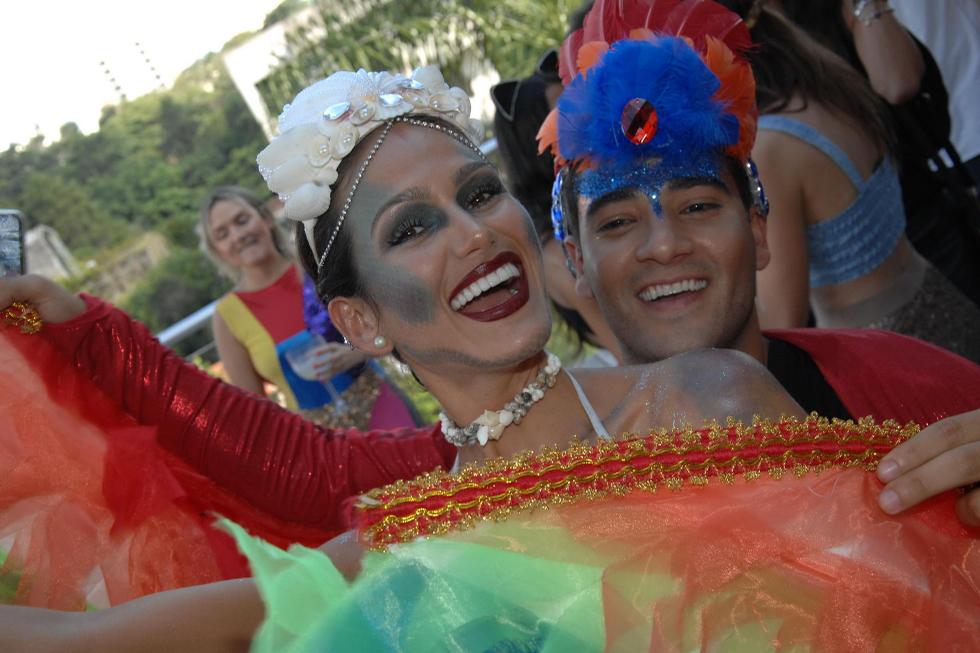 Briely Bennettone e Murilo Lima (Foto: Augusto Mestieri/Reprodução)