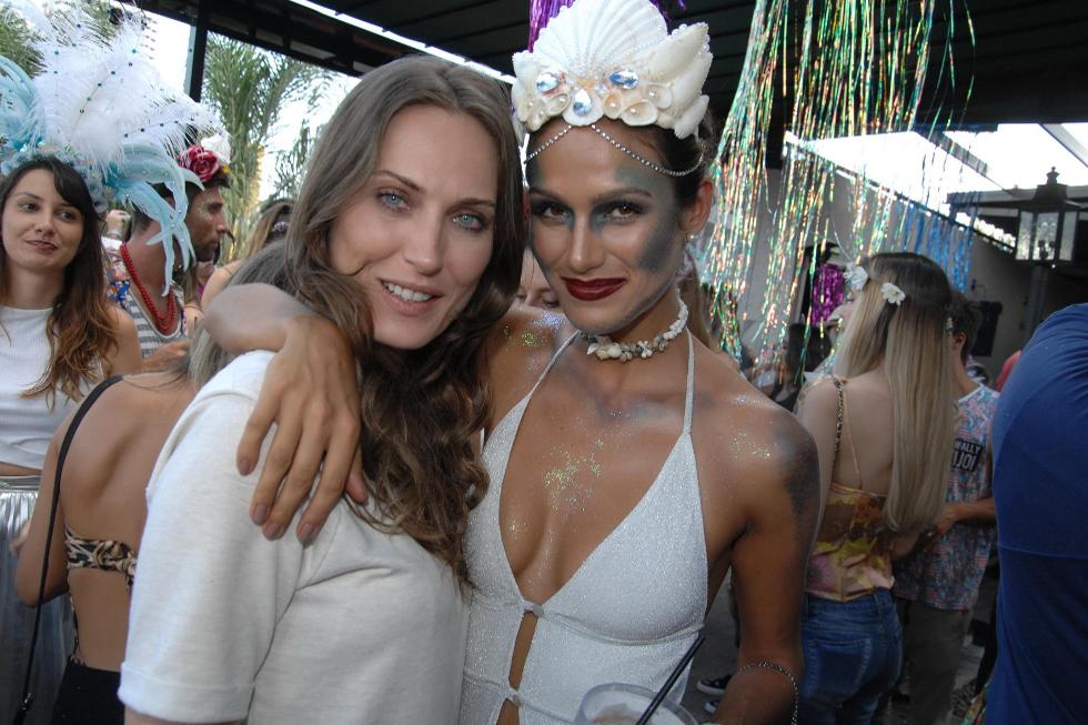 Eliza Joenck e Driely Bennettone (Foto: Augusto Mestieri/Reprodução)
