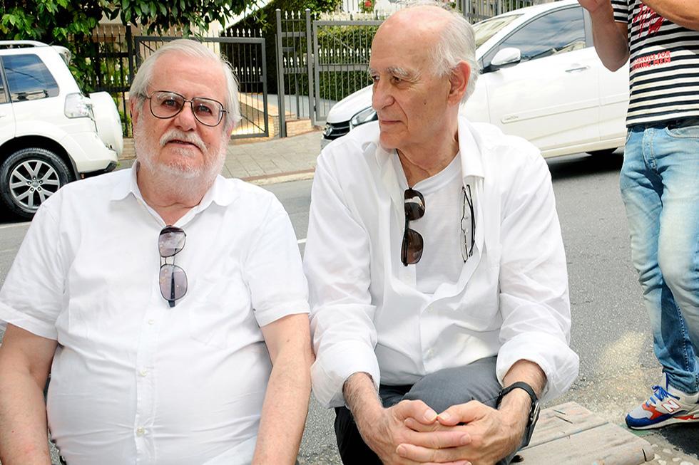 Fabio Magalhães e Gabriel Borba (Foto: Bruna Guerra/Reprodução)
