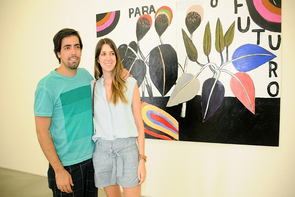 Gabriel Sidi e Marina Setubal (Foto: Bruna Guerra/Reprodução)
